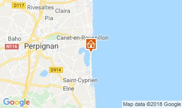 Map Perpignan Mobile home 117319