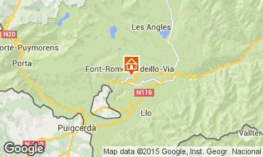 Map Font Romeu Apartment 4169