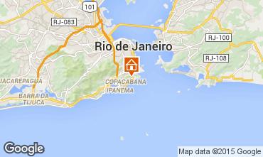 Map Rio de Janeiro Apartment 94405