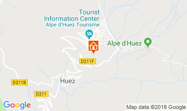 Map Alpe d'Huez Apartment 101610