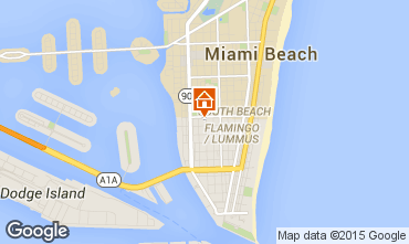 Map Miami Beach Apartment 33638