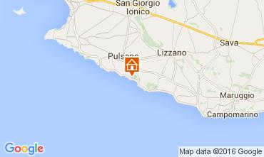 Map Pulsano Villa 45622