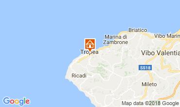 Map Tropea Apartment 113964