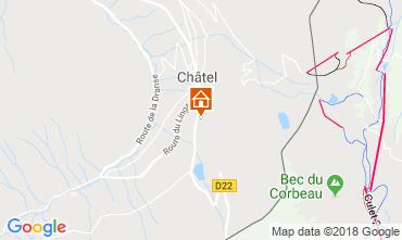 Map Châtel Chalet 73726