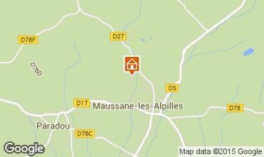 Map Maussane les Alpilles Villa 83537