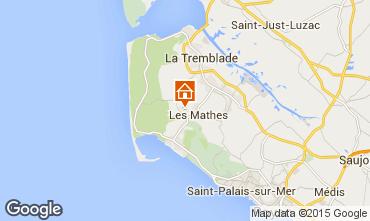 Map La Palmyre Mobile home 96072
