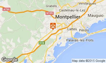 Map Montpellier Villa 93493