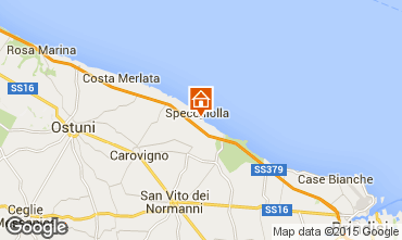 Map Ostuni Villa 95654
