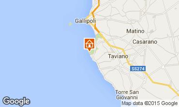 Map Gallipoli Villa 95636