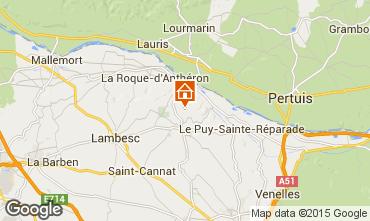 Map Aix en Provence Villa 11926