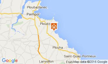 Map Paimpol Villa 105504