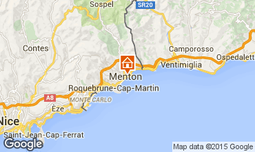 Map Menton Apartment 61473
