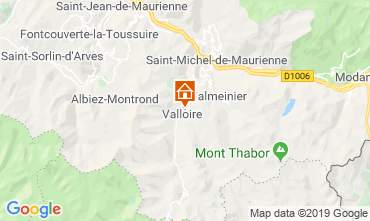Map Valloire Chalet 116466