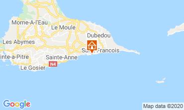 Map Saint Francois One-room apartment 68998