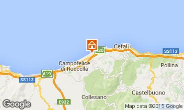 Map Cefal� Villa 62199