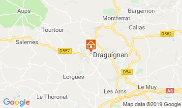 Map Draguignan Villa 98537
