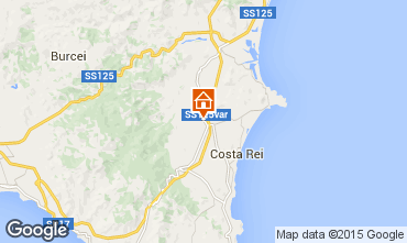 Map Costa Rei House 81863