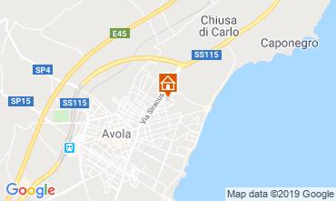 Map Avola Apartment 103917