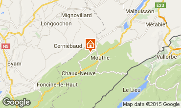 Map Mouthe House 3717