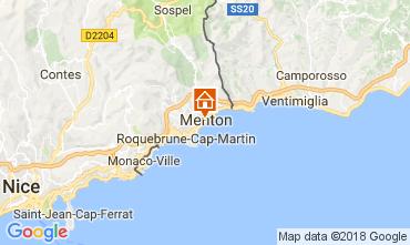 Map Menton Apartment 113300