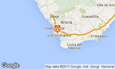 Map Los Cristianos Apartment 70136