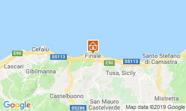 Map Finale di Pollina Apartment 86654