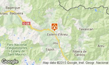 Map Baqueira-Beret Chalet 27954