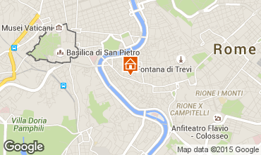 Map Rome Apartment 61374