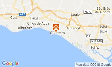 Map Quarteira Apartment 111989