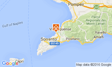 Map Sorrento Apartment 104172