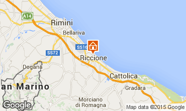 Map Riccione Apartment 17943