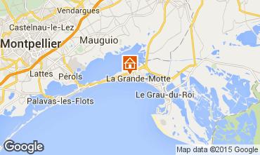 Map La Grande Motte One-room apartment 31444