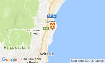 Map Riposto Villa 114102
