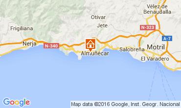 Map Almuñecar Apartment 104254