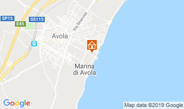 Map Avola Unusual accommodation 109962