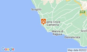 Map Punta Secca Apartment 79868
