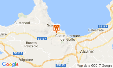 Map Castellammare del Golfo Villa 109378