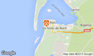 Map Arcachon House 83818