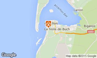 Map Arcachon House 83818
