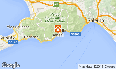 Map Amalfi Apartment 25118