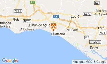 Map Vilamoura Apartment 37988