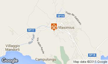 Map Villasimius Villa 85781