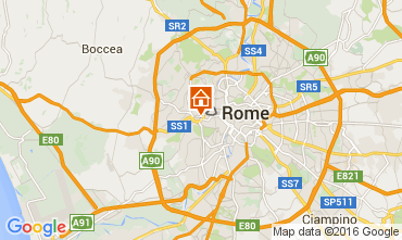 Map Rome Apartment 66395
