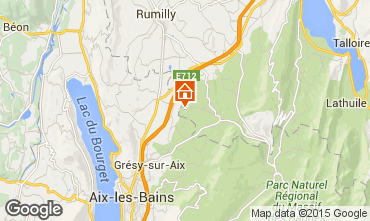 Map Annecy Vacation rental 51624
