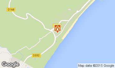 Map Narbonne plage Villa 82937