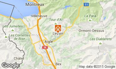 Map Leysin Chalet 95970