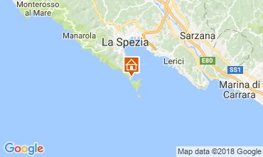 Map Portovenere Apartment 46038