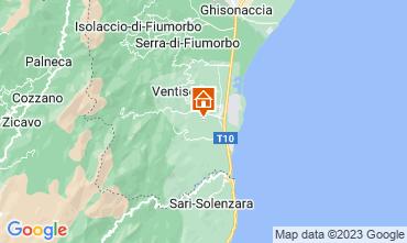 Map Solenzara Apartment 10915