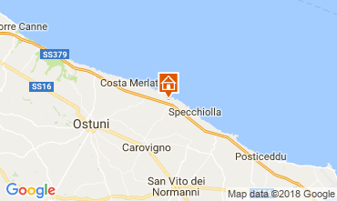 Map Ostuni Apartment 87769