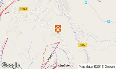 Map Saint-Gervais-les-Bains Chalet 2571